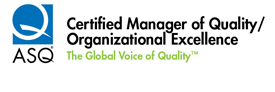 ASQ - Certified Manager of Quality/Organizational Excellence